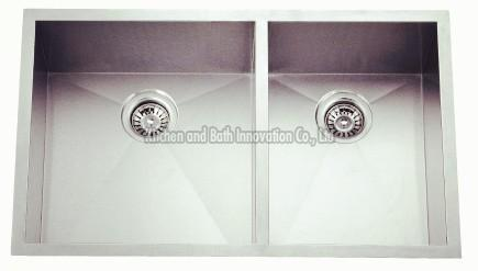 KBHD3320A Stainless Steel Double Bowl Sink