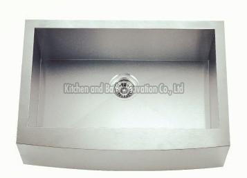 KBHS3621 Stainless Steel Apron Farm Single Bowl Sink