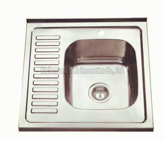 KBLS6060R Stainless Steel Lay on Sink