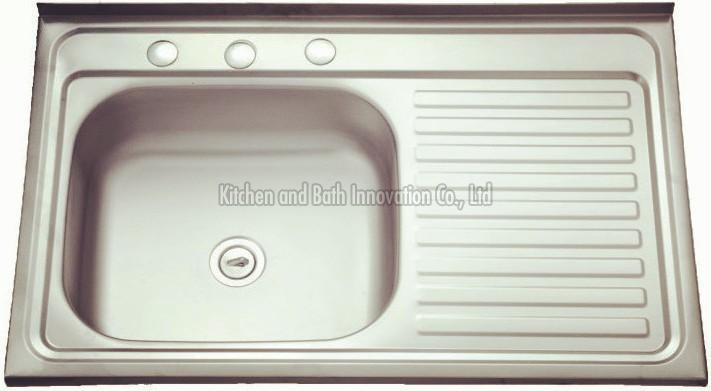 KBLS8050 Stainless Steel Lay on Sink