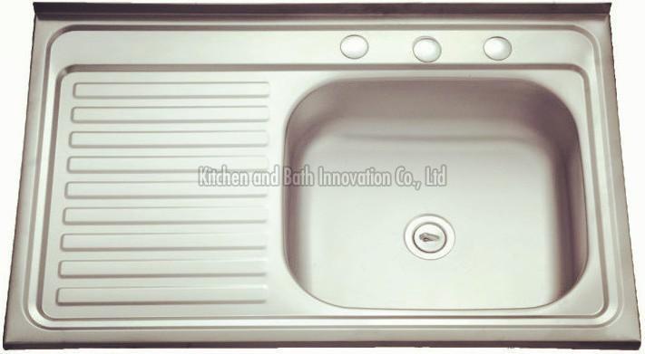 KBLS8050R Stainless Steel Lay on Sink