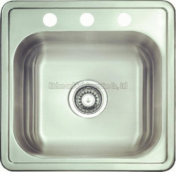 KBTS6248 Stainless Steel Topmount Single Bowl Sink