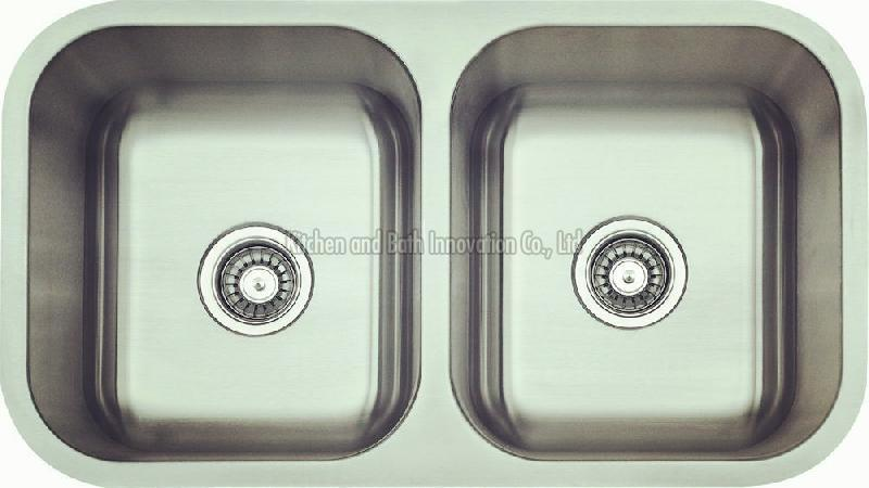 KBUD3118 Stainless Steel Undermount Double Bowl Sink