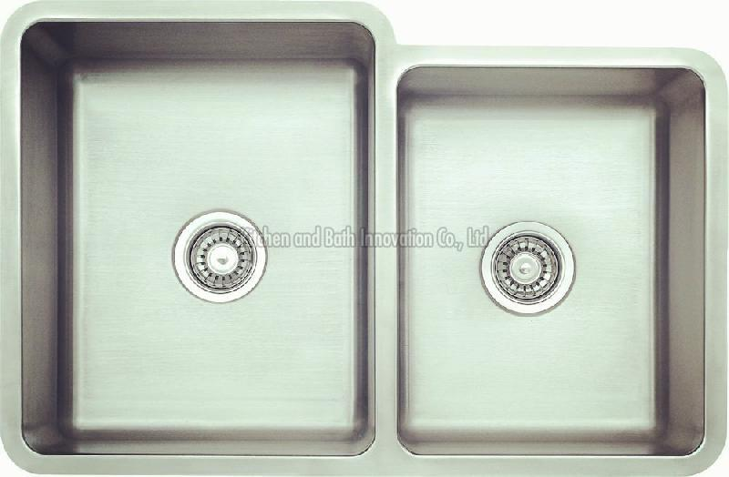 KBUD3221C Stainless Steel Undermount Double Bowl Sink