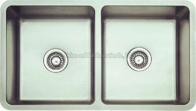 KBUD3319 Stainless Steel Undermount Double Bowl Sink