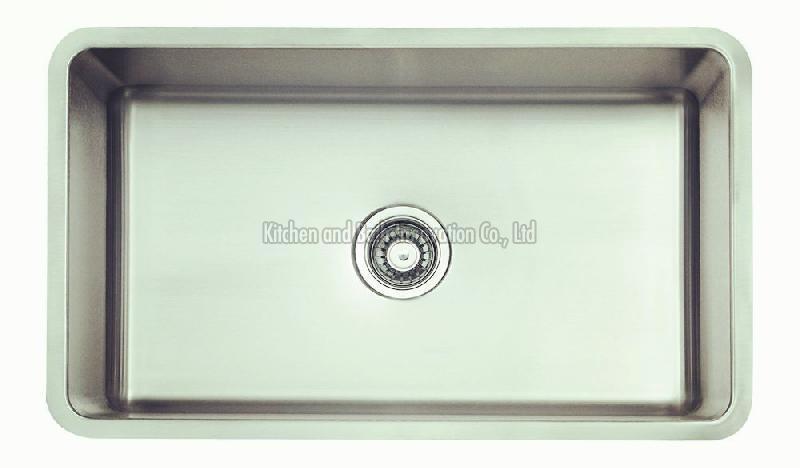 KBUS3018B Stainless Steel Undermount Single Bowl Sink