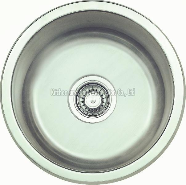 KBUS450 Stainless Steel Undermount Round Sink