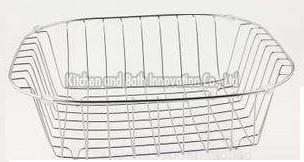 Stainless Steel Sink Full Rinsing Basket