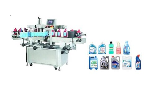 Automatic Front Back Labeling Machine 02