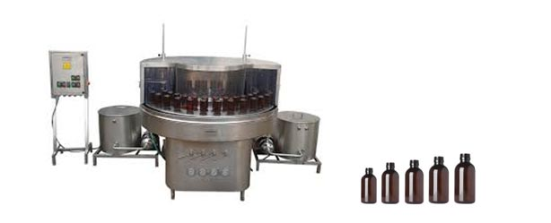Rotary Bottle Washing Machine 02