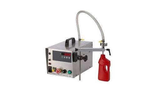 Semi Automatic Gear Pump Liquid Filling Machine 01