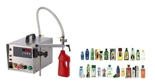 Semi Automatic Gear Pump Liquid Filling Machine 02