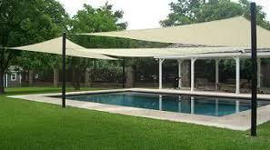 Pool Side Awnings