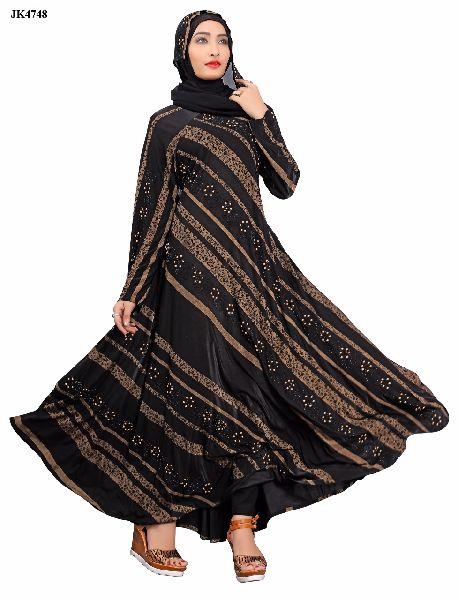 A-63 Abaya Muslim Dresse