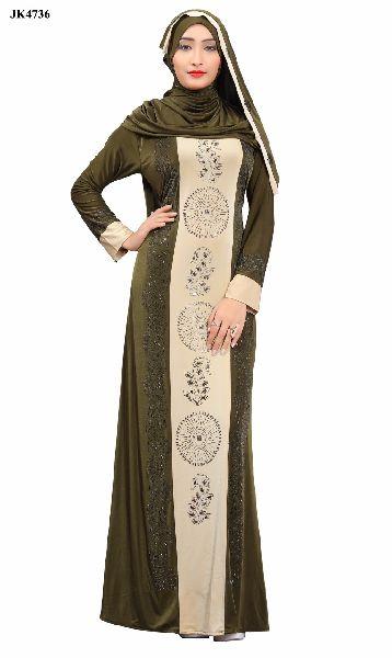 A-79 Abaya Muslim Dresse