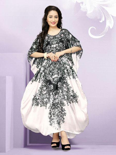 Pure Silk Kaftan 01