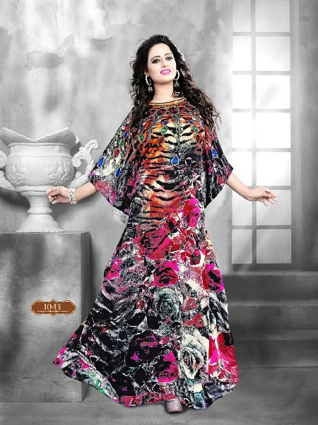 Pure Silk Kaftan 02