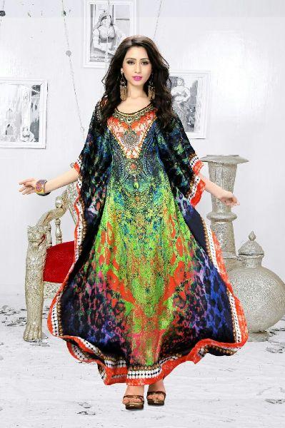 Pure Silk Kaftan 04