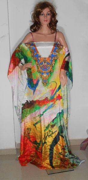 Pure Silk Kaftan 05