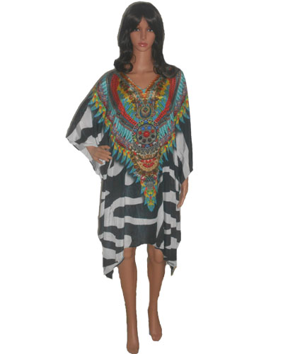 SD5 Stylish Knee Length Kaftan