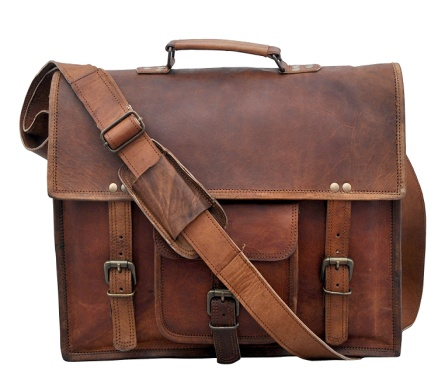 PH004 Leather Laptop Bag