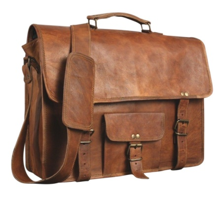 PH006 Leather Laptop Bag