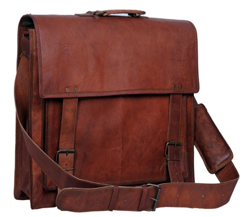 PH011 Leather Laptop Bag
