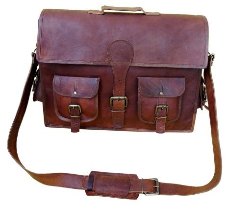 PH015 Leather Laptop Bag