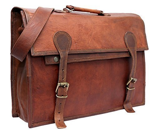 PH018 Leather Laptop Bag