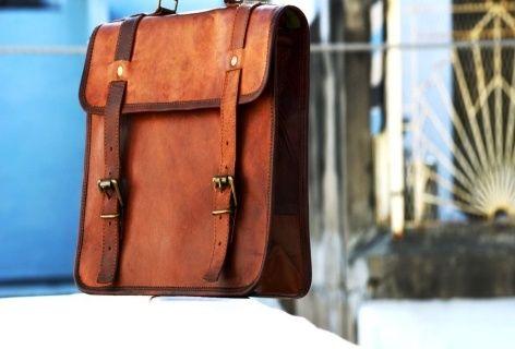 PH021 Leather Laptop Bag