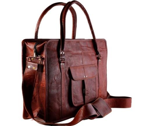 PH025 Leather Messenger Bag