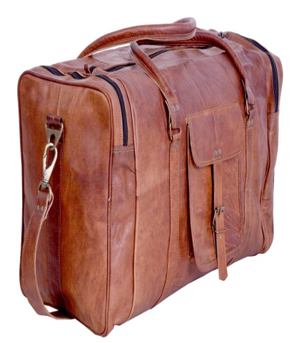 PH051 Vintage Leather Duffle Bag