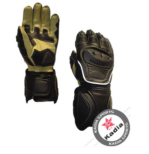 Cowhide Leather Motorcycle Gloves