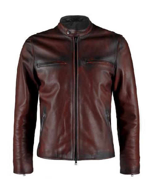 Mens Dark Brown Leather Jackets