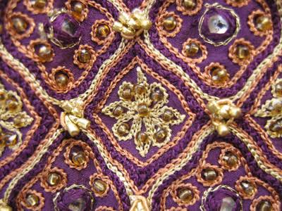 Chain Stitch Embroidery Fabric