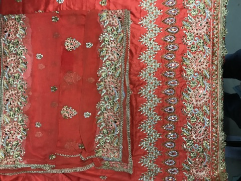 Multi Embroidery Fabric