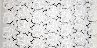 Schiffli Cotton Fabric 01