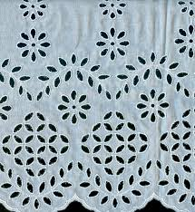 Schiffli Cotton Fabric 02