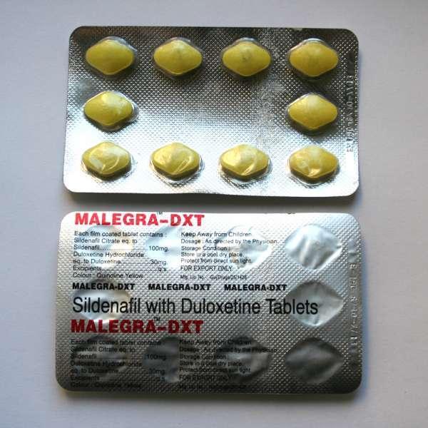 Malegra-DXT Tablets