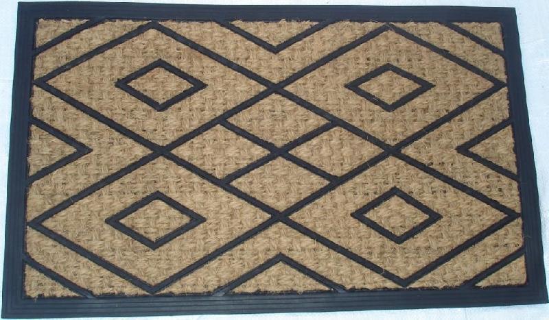 Rubber Moulded Coir Panama Door Mats