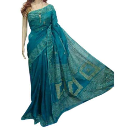 Light Blue Handloom Sarees