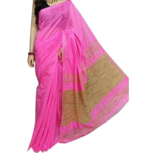 Pink Handloom Sarees