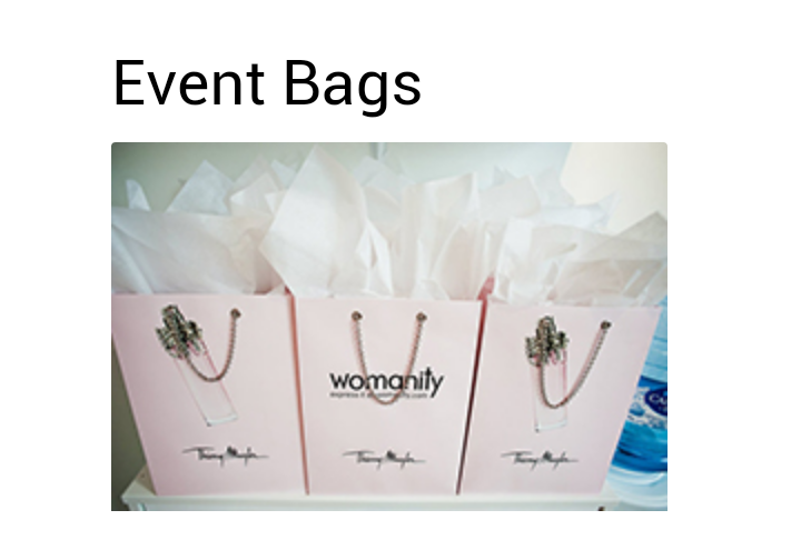 Event Paper Bags