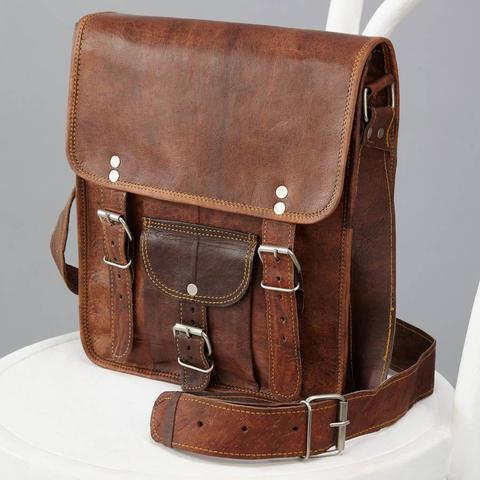 Leather College Bags