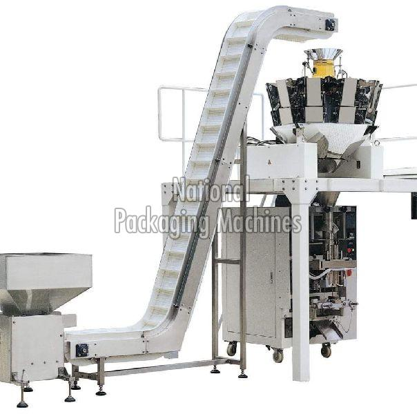 Fully Automatic Namkeen Pouch Packing Machine 01