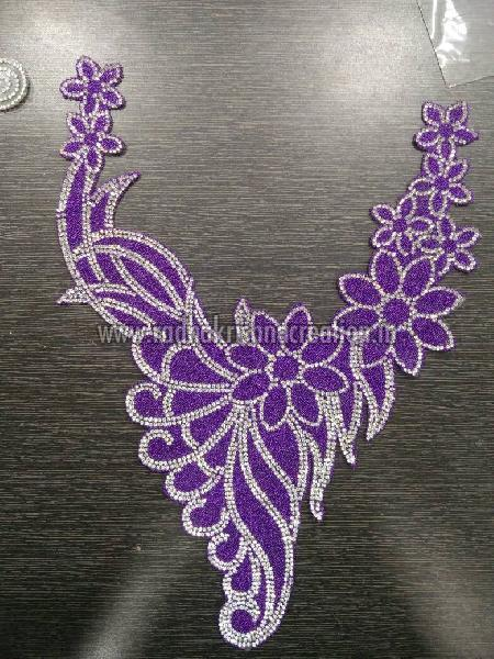 Hot Glue Sit Diamond Bead Back Patches