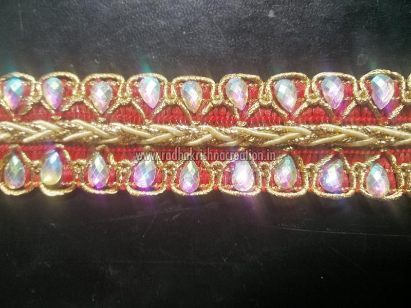Kundan Work Jalar Laces