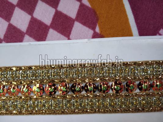 Golden China Suit Laces