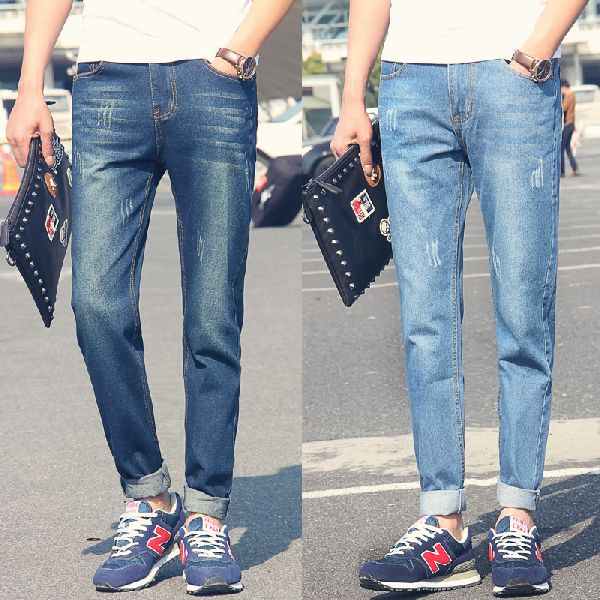 Mens Narrow Fit Jeans 01