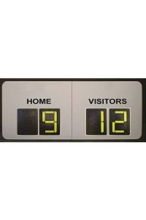 4 Digit Soccer Self Supporting Scoreboard